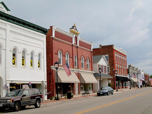 Small Business in Small Town, USA