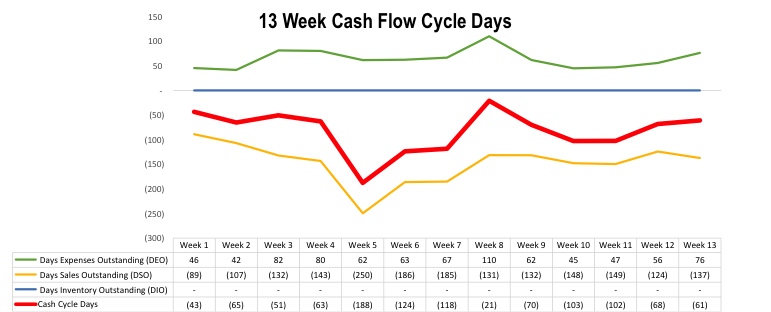 13-week cash flow cycle